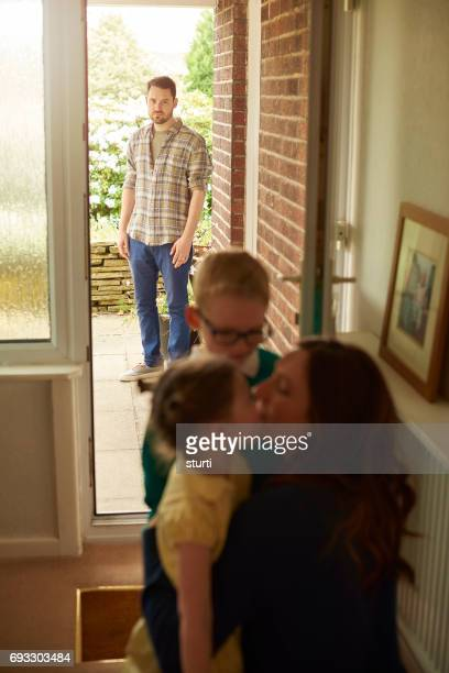 joint custody - divorce kids stock pictures, royalty-free photos & images