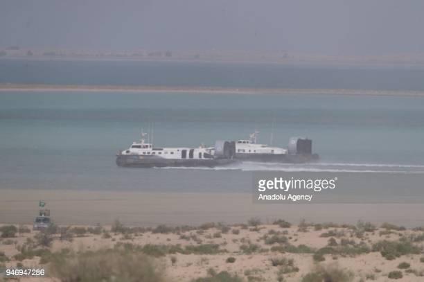 Joint Gulf Shield I military drill held in Ash Sharqiyah region Dhahran Saudi Arabia on April 16 2018