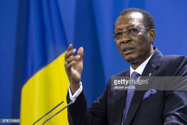 Joint press conference of the German Chancellor Angela_Merkel with the President of the Republic of Chad Idriss Deby on October 12 2016 at the...