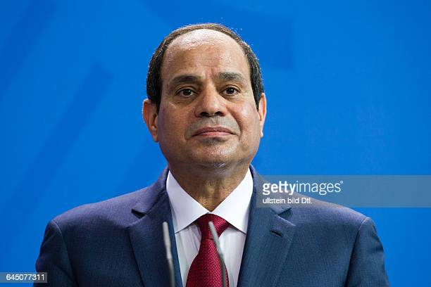 Joint press conference with Egyptian President Abdel Fattah alSisi and the German Chancellor Angela_Merkel on June 3 at the Federal Chancellery in...