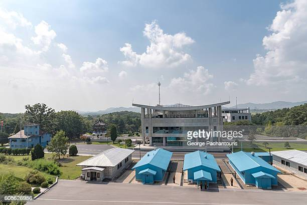 joint security area, demilitarized zone, korea - panmunjom stock pictures, royalty-free photos & images