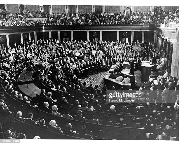 Joint Session of Congress in Washington, DC, 1981.