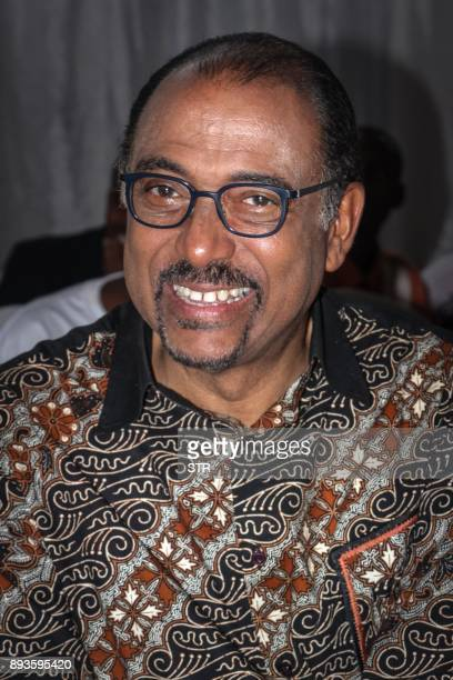 Joint United Nations Programme on HIV/AIDS Executive director and UN Deputy General Secretary Michel Sidibe poses as he visits members of HIV/AIDS...
