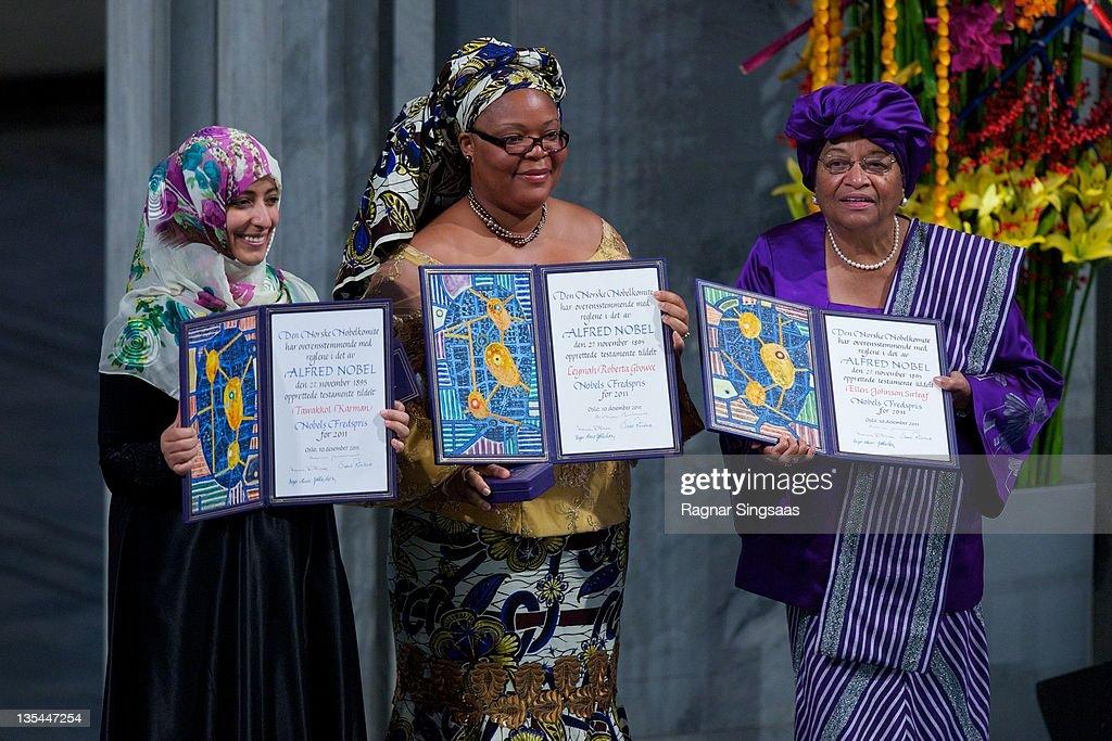 Nobel Peace Prize Award Ceremony 2011