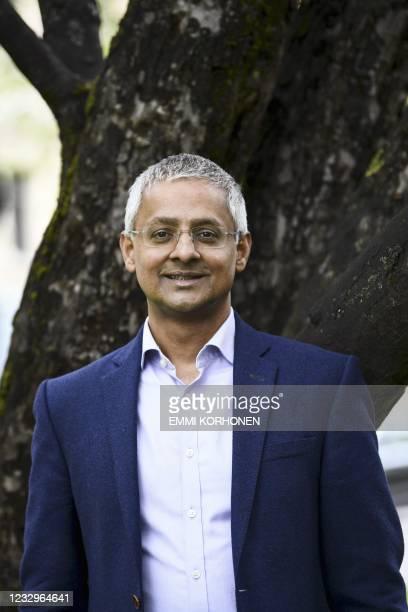 Joint-winner of the 2020 Millennium Technology Prize, Indian-born British professor Sir Shankar Balasubramanian poses ahead of the 2020 Millennium...