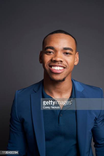Joivan Wade of DC Universe's Doom Patrol poses for a portrait during the 2019 Winter TCA at The Langham Huntington Pasadena on February 9 2019 in...
