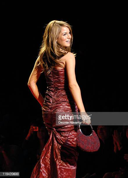 JoJo at Heart Truth Red Dress during Olympus Fashion Week Fall 2006 'Heart Truth Red Dress' Runway at The Tent Bryant Park in New York New York...