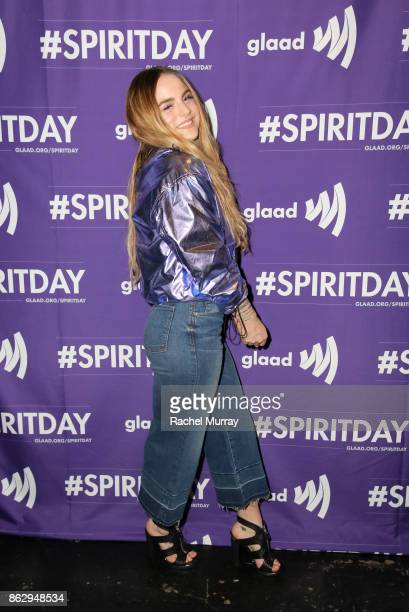 JoJo at Justin Tranter And GLAAD Present 'Believer' Spirit Day Concert at Sayer's Club on October 18 2017 in Los Angeles California