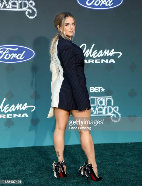 JoJo attends the 2019 Soul Train Awards at the Orleans Arena on November 17 2019 in Las Vegas Nevada