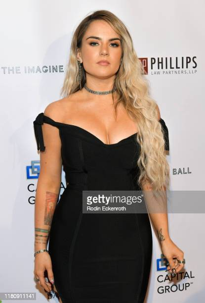JoJo attends the 6th Annual Imagine Ball at The Peppermint Club on October 13 2019 in Los Angeles California