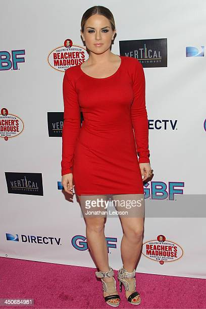 JoJo attends the GBF Los Angeles Premiere at Chinese 6 Theater Hollywood on November 19 2013 in Hollywood California
