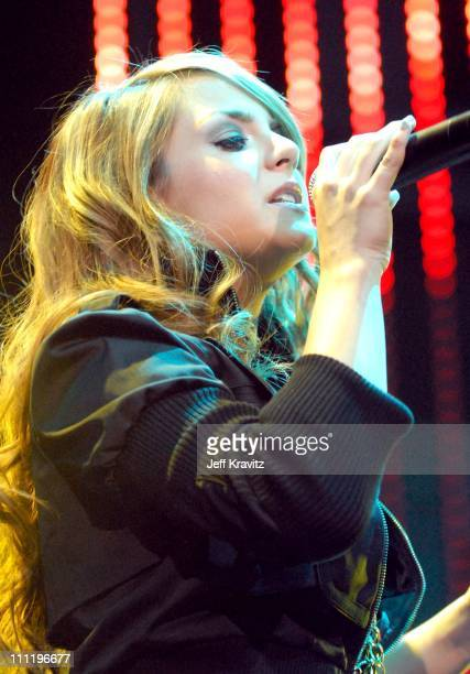 JoJo during 1027 KIIS FM Jingle Ball 2006 at Honda Center in Anaheim CA United States