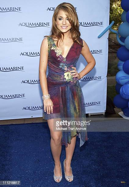 JoJo during Aquamarine Los Angeles Premiere Arrivals at Fox Studio Lot in Los Angeles California United States