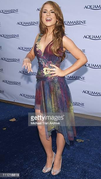 JoJo during 'Aquamarine' Los Angeles Premiere Arrivals at Fox Studio Lot in Los Angeles California United States