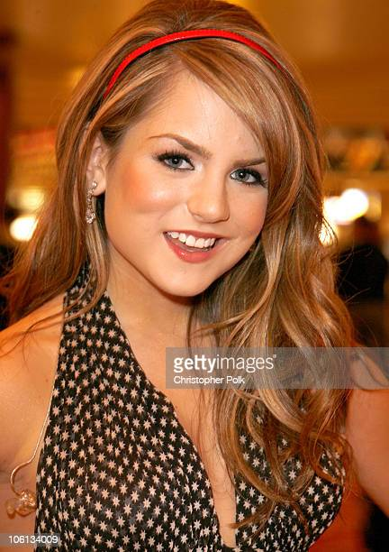 JoJo during Hollywood Christmas Celebration From The Grove Backstage at The Grove in Los Angeles California United States