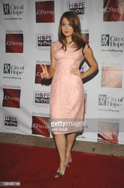"JoJo during ""Hope Rocks"" Benefit Concert - Arrivals - August 13, 2005 at Key Club in Los Angeles, California, United States."