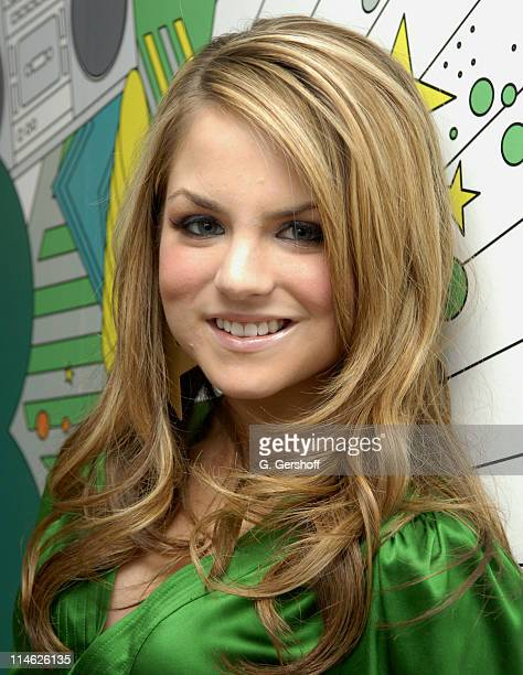 JoJo during Sean 'Diddy' Combs and JoJo Visit MTV's TRL October 17 2006 at MTV Studios in New York City New York United States