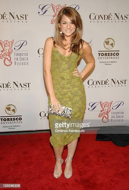 Jojo during The GP Foundation for Cancer Research Fourth Annual Angel Ball Arrivals at Marriott Marquis in New York City New York United States