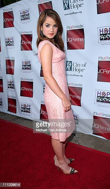 "JoJo during Young Hollywood Says ""Hope Rocks"" - Concert to Benefit City of Hope - Arrivals at Key Club in Los Angeles, California, United States."