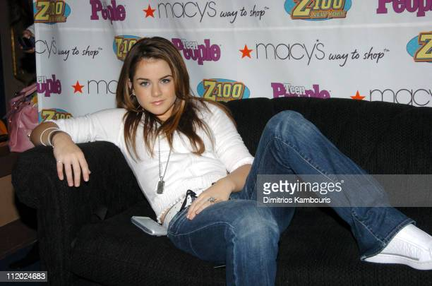 JoJo during Z100 Teen People All Access Lounge at Z100's Jingle Ball 2004 at Manhattan Center in New York City New York United States