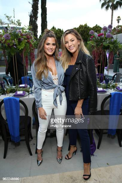 JoJo Fletcher and Becca Tilley attend Victoria's Secret Hosts a Summer Soiree with Angel Martha Hunt on May 24 2018 in Santa Monica California