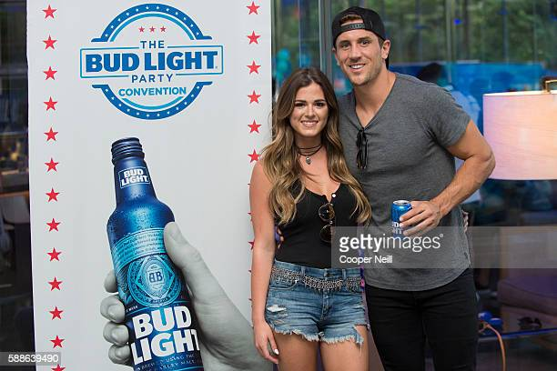 JoJo Fletcher and Jordan Rodgers enjoy the Bud Light Party Convention in Dallas on August 11 2016 Bud Light America's most popular and inclusive beer...
