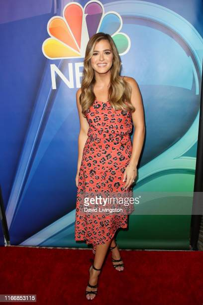 JoJo Fletcher attends the 2019 TCA NBC Press Tour Carpet at The Beverly Hilton Hotel on August 08 2019 in Beverly Hills California