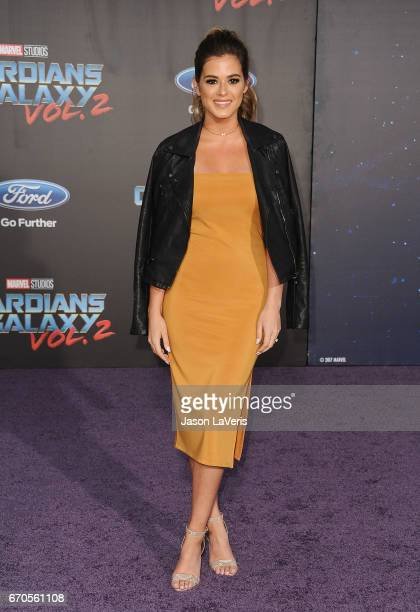 JoJo Fletcher attends the premiere of Guardians of the Galaxy Vol 2 at Dolby Theatre on April 19 2017 in Hollywood California