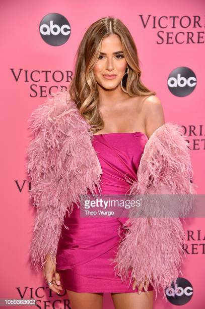 JoJo Fletcher attends the Victoria's Secret Fashion Show at Pier 94 on November 8 2018 in New York City