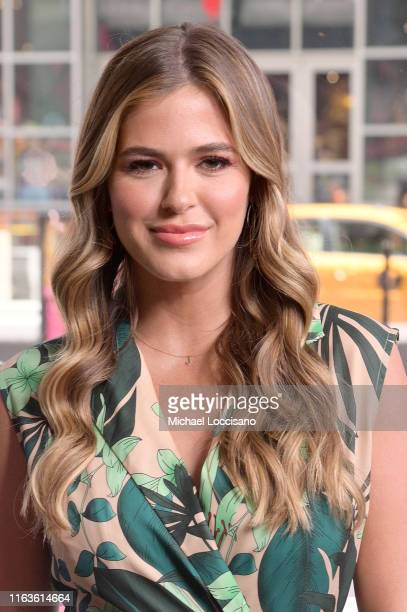 Jojo Fletcher visits Extra at The Levi's Store Times Square on July 22 2019 in New York City