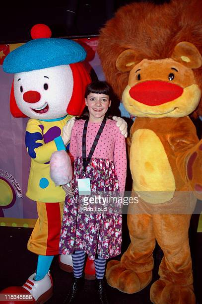 JoJo Madeleine Martin and Goliath during 'JoJo's Circus' Balloon Inflation Party November 23 2005 at The Powerhouse at the Museum of Natural History...