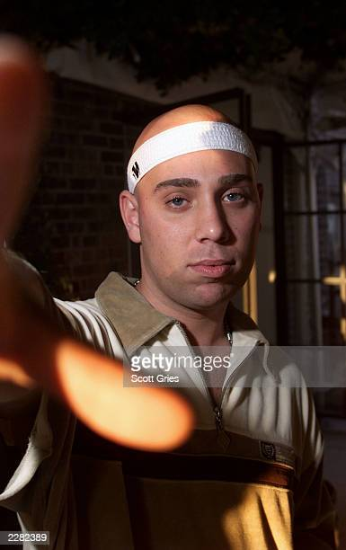 Jojo Pellegrino at the 'Violator The Album V20' album release party at the Hudson Hotel in New York City 7/12/01 Photo by Scott Gries/ImageDirect
