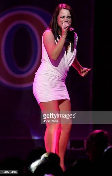 Jojo performs at Y 100 Jingle Ball 2009 at Bank Atlantic Center on December 12 2009 in Fort Lauderdale Florida