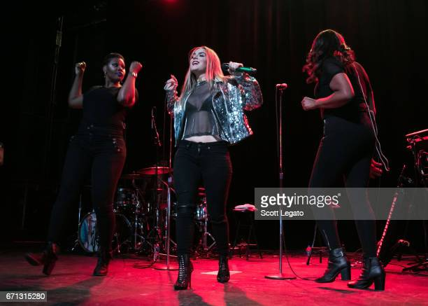 JoJo performs during her Mad Love Tour at The Majestic Theatre on April 21 2017 in Detroit Michigan