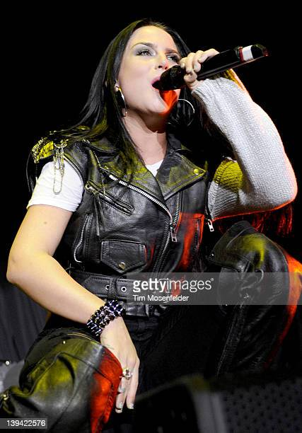 JoJo performs in support of her Jumping Trains release at the San Jose State Event Center on February 19 2012 in San Jose California