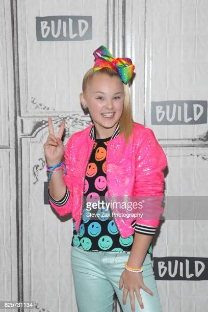 Jojo Siwa attends Build Series to discuss her new special 'Jojo Siwa My World' at Build Studio on August 2 2017 in New York City