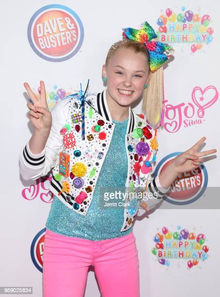JoJo Siwa attends her 15th Birthday Party at Dave Busters on May 15 2018 in Hollywood California