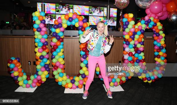 JoJo Siwa attends her 15th Birthday Party at Dave & Busters on May 15, 2018 in Hollywood, California.