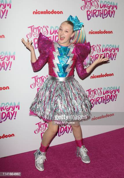 JoJo Siwa attends her Sweet 16 Birthday celebration at W Hollywood on April 09 2019 in Hollywood California