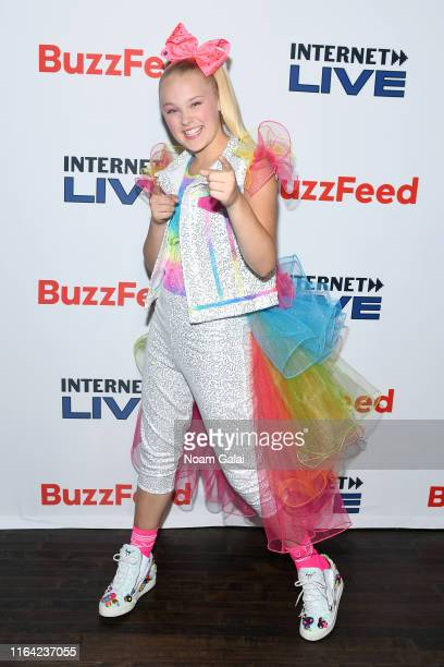 JoJo Siwa attends Internet Live By BuzzFeed at Webster Hall on July 25, 2019 in New York City.