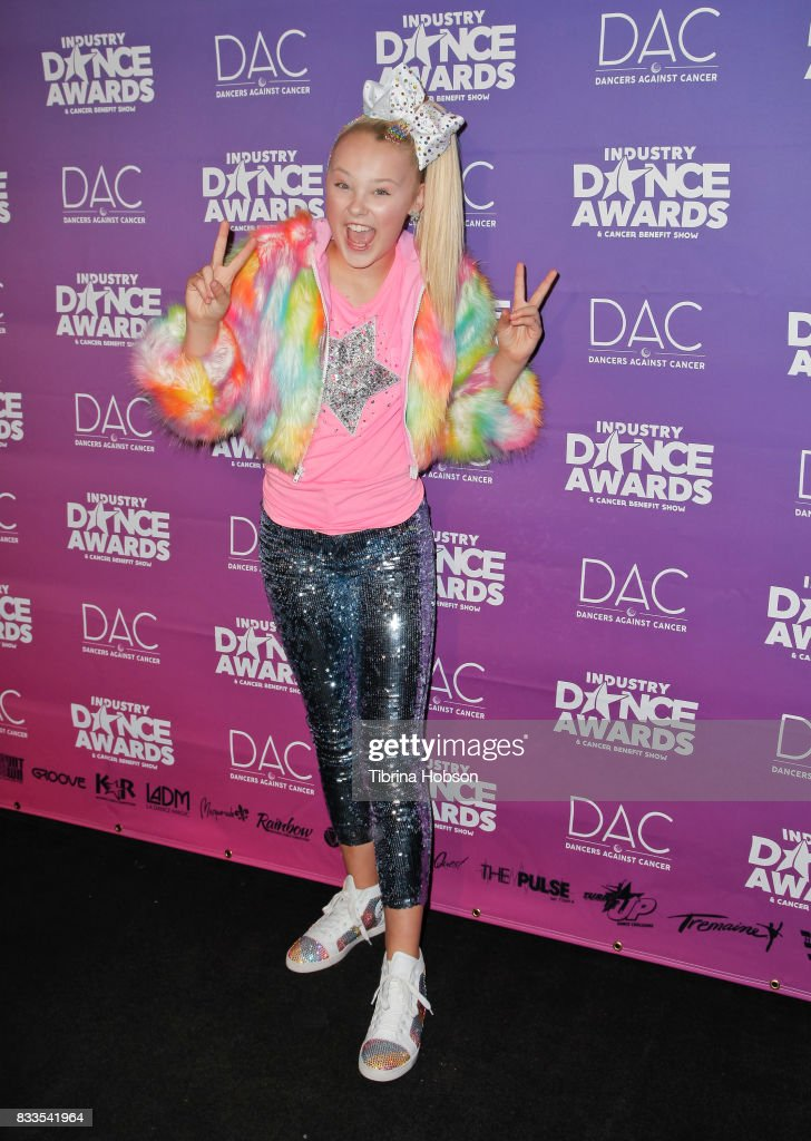 JoJo Siwa attends the 2017 Industry Dance Awards and Cancer Benefit Show at Avalon on August 16, 2017 in Hollywood, California.
