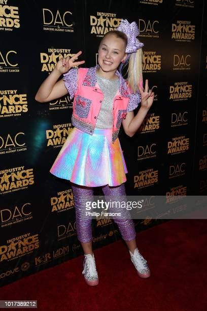 JoJo Siwa attends the 2018 Industry Dance Awards at Avalon Hollywood on August 15 2018 in Los Angeles California