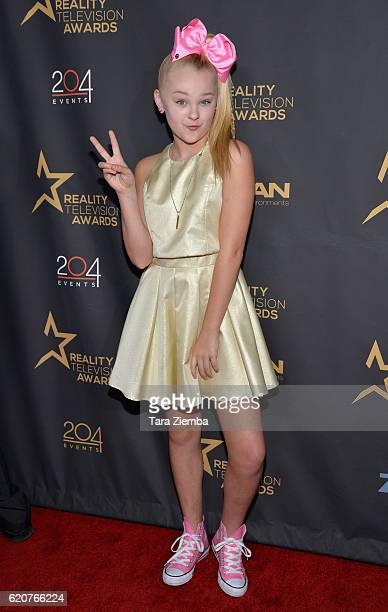 JoJo Siwa attends the 4th Annual Reality TV Awards at Avalon on November 2 2016 in Hollywood California