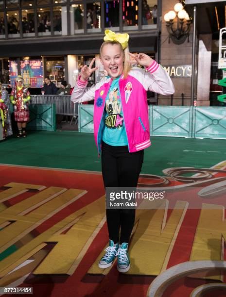 JoJo Siwa attends the rehearsals for the 91st Annual Macy's Thanksgiving Day Parade on November 21 2017 in New York City