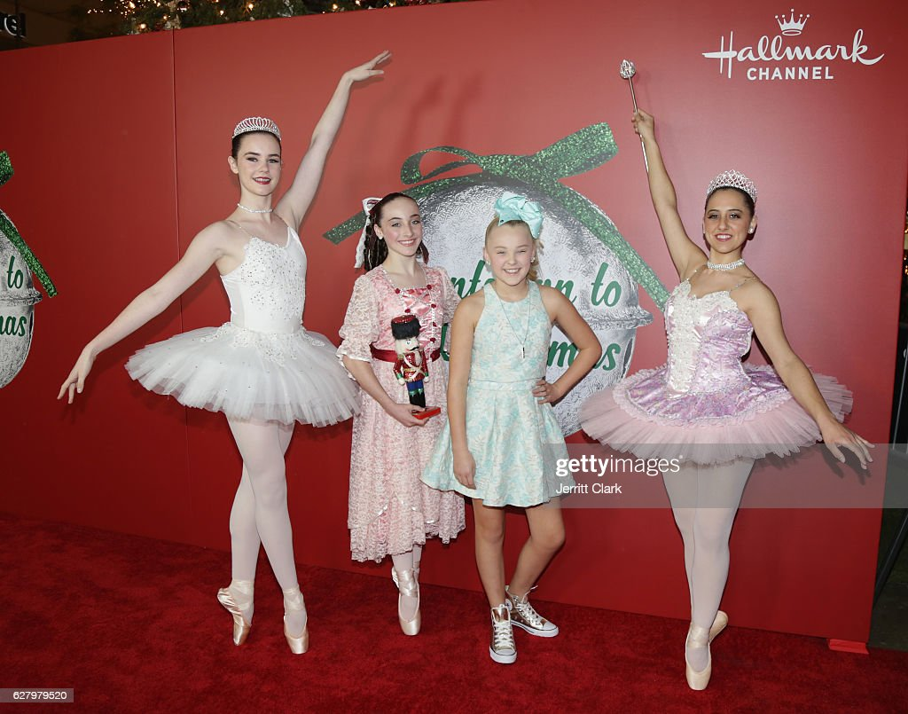 JoJo Siwa attends the Screening Of Hallmark Channel\'s \'A Nutcracker ...