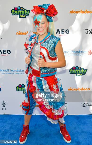 JoJo Siwa attends T.J. Martell Foundation's 10th Annual LA Family Day at The Grove on October 05, 2019 in Los Angeles, California.