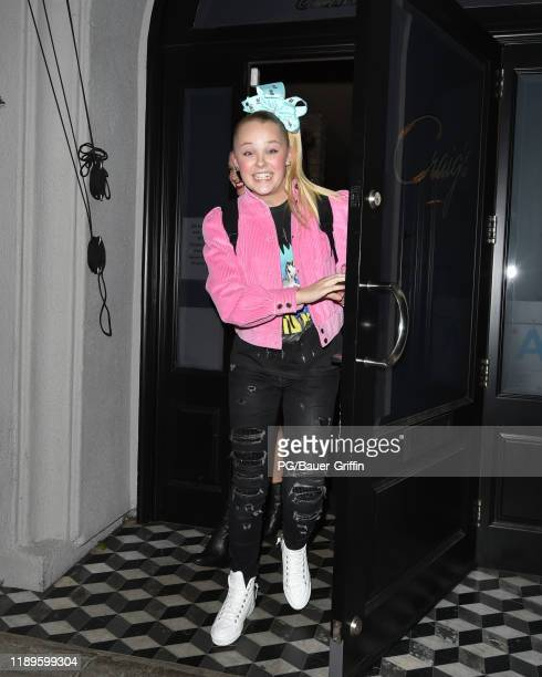 Jojo Siwa is seen on December 18 2019 in Los Angeles California