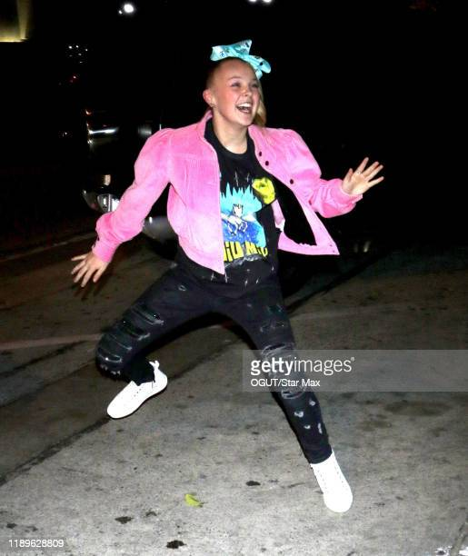 JoJo Siwa is seen on December 18 2019 in Los Angeles California