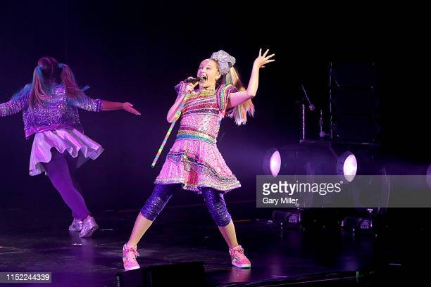Jojo Siwa performs in concert during her DREAM tour at The Bass Concert Hall on June 26, 2019 in Austin, Texas.