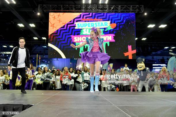 5d3fb79db JoJo Siwa performs onstage at Nickelodeon at the Super Bowl Expereince  during NFL Play 60 Kids
